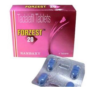 Buy Forzest Tadalafil 20mg Blue Pills Online USA for Erectile Dysfunction