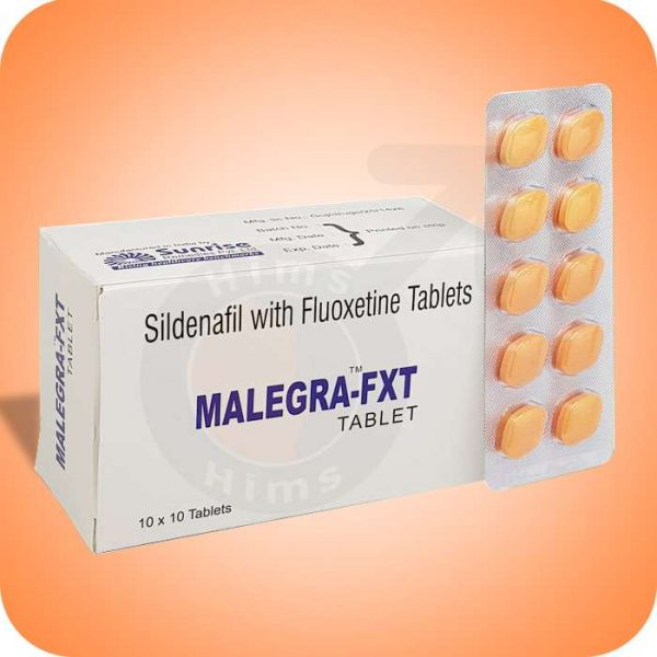 Buy Malegra FXT Sildenafil Fluoxetine 140mg tablets Online USA for Erectile Dysfunction & Pre Ejaculation