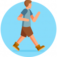Walking to cure Erectile Dysfunction